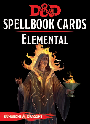 D&D Spellbook Cards Elemental