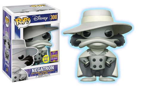 Darkwing Duck - Negatron Glow SDCC 2017 US Exclusive Pop! Vinyl