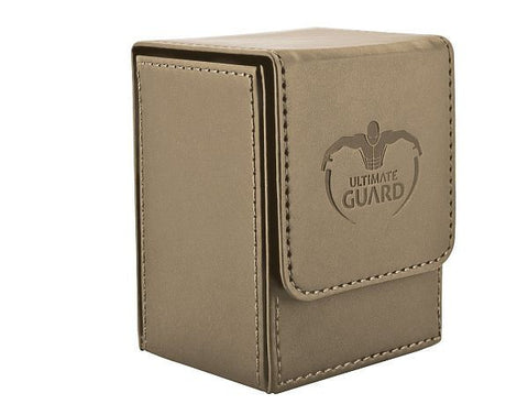 Deck Box Ultimate Guard Flip Deck Case 80+ Standard Size Sand