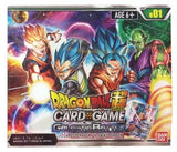 Dragon Ball Super Card Game Booster DISPLAY (Release date 28 July 2017)