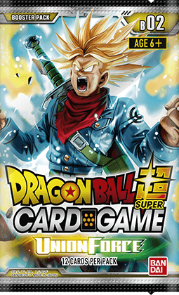 Dragon Ball Super Card Game Booster Pack B02-Union Force (Release date 3/11/2017)