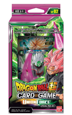 Dragon Ball Super Card Game Special Pack 02-Union Force (Release date 3 /11/2017)