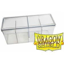 Dragon Shield Storage Box Four Comparments Clear