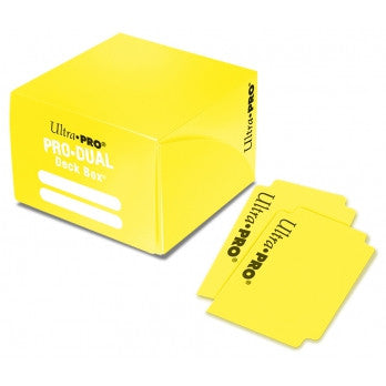 Ultra PRO Dual Deck Box Yellow 180 cards