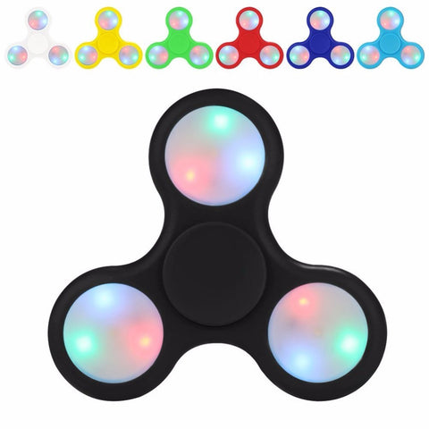 Fidget Spinner LED ABS (Assorted Colours)