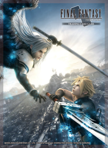 Final Fantasy TCG Sleeve FFVII Advent Children Cloud/Sephiroth (60)