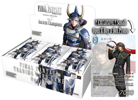 Final Fantasy Trading Card Game Opus X Booster Box (Release Date 08/11/2019)
