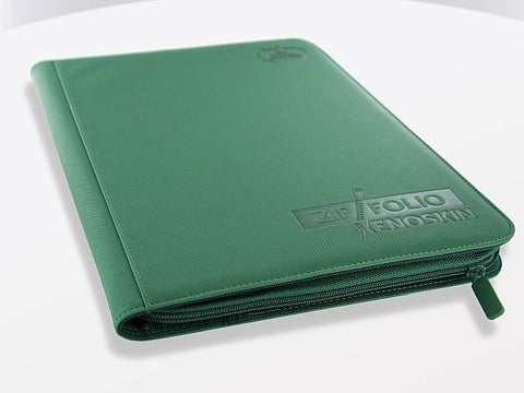 Folder Ultimate Guard 9-Pocket ZipFolio XenoSkin Green