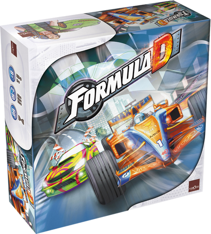 Formula D - Core Board Game