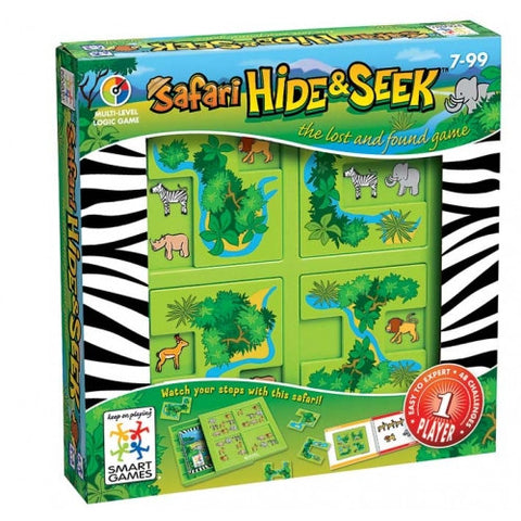 Hide & Seek Safari - Smart Logic Game