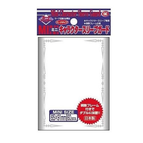 KMC CHARACTER SLEEVE GUARD (60 SLEEVES/PACK) - MINI SIZE