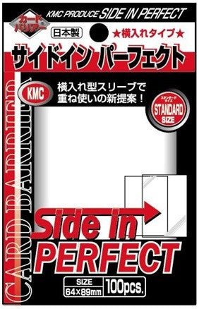 KMC SIDE IN PERFECT SIZE SLEEVE (100 SLEEVES/PACK) - STANDARD SIZE