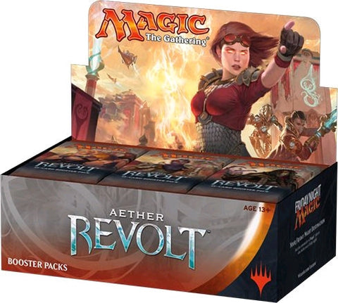 MAGIC THE GATHERING Aether Revolt Booster Box (Release date 20/01/2017)