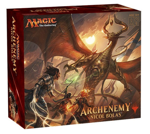 MAGIC THE GATHERING Archenemy: Nicol Bolas (Release date 16/06/2017)