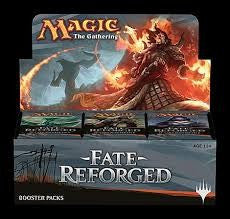 Magic The Gathering Fate Reforged Booster Box DISPLAY