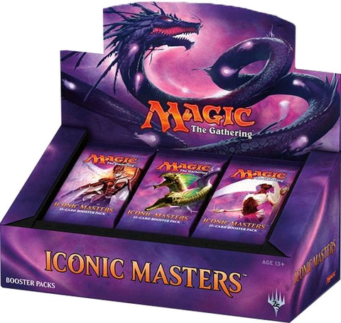 Magic the Gathering Iconic Masters Booster Box (Release Date 17 November 2017)