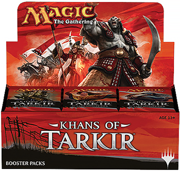 Magic the Gathering Khans of Tarkir Booster Box DISPLAY