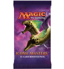 Magic the Gathering Iconic Masters Booster Pack (Release Date 17 November 2017)