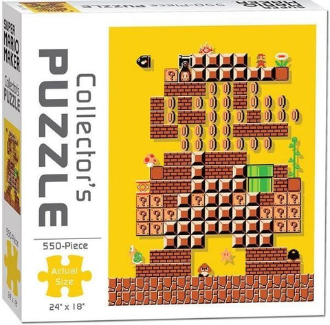 Super Mario Maker Collector's Puzzle 1