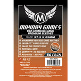 Mayday Premium Standard USA Chimera Game Clear Sleeves (Pack of 50) - 57.5 MM X 89 MM