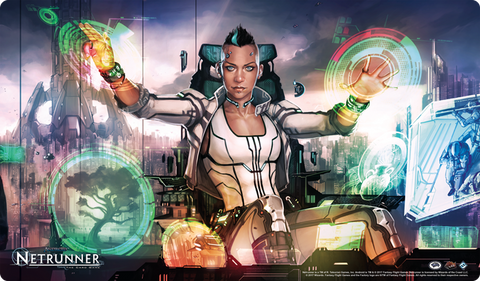 Android Netrunner New World Order Playmat-Games Corner
