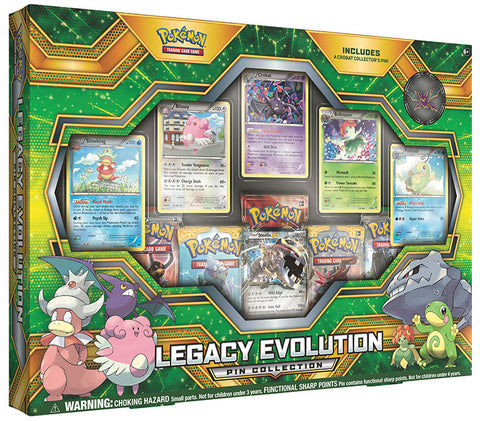 POKÉMON TCG Legacy Evolution Pin Collection