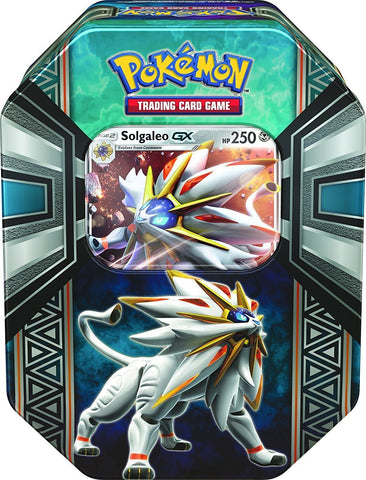 POKÉMON TCG Legends of Alola Tin-Solgaleo-GX