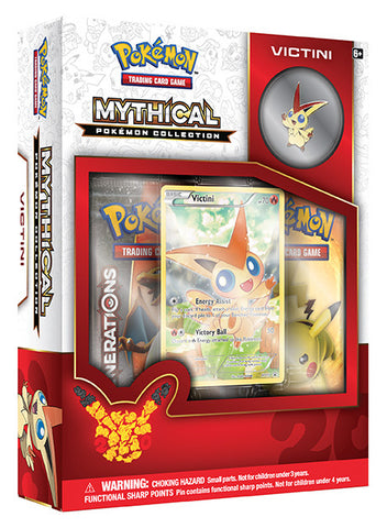 POKEMON TCG: Mythical Pokemon Collection - Victini Pin Box