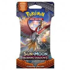 POKÉMON TCG Sun & Moon Burning Shadows Blister (Release date 4 August 2017)