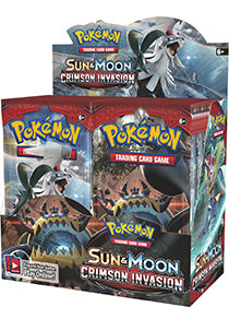 POKÉMON TCG Sun & Moon Crimson Invasion Booster Box (Release date 3/11/2017)