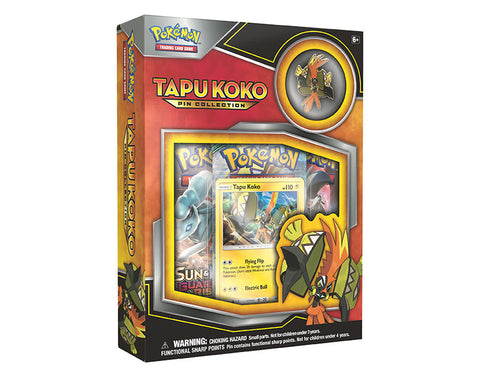 POKÉMON TCG Tapu Koko Pin Collection