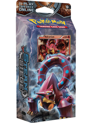 POKEMON TCG XY Steam Siege Theme Deck-Gears of Fire