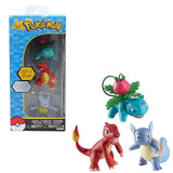 Pokemon Action Pose Figure 3 Pack Assortment