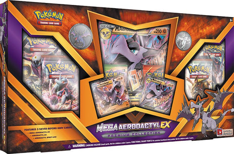 Pokemon Mega Aerodactyl Ex Premium Collection
