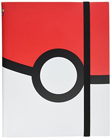 Ultra Pro Pokemon Pokeball Full-View 9-Pocket PRO-Binder Portfolio