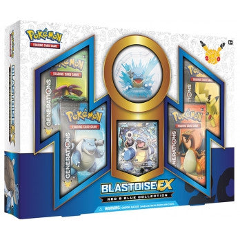 Pokemon TCG: Red & Blue Collection-Blastoise-EX