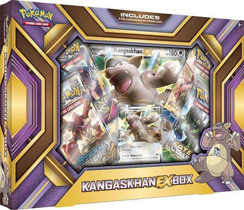 Pokemon TCG Kangaskhan EX Box