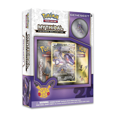 Pokemon TCG Mythical Pokemon Collection – Genesect Pin Box