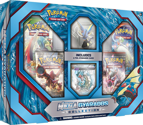 Pokemon TCG Mega Gyarados Collection Box