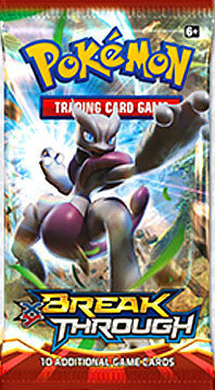 Pokemon TCG XY BREAKthrough Booster Pack