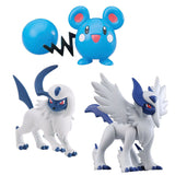 Pokemon XY Figure 3-Pack Assorted-Mega Absol, Azurill & Absol