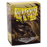 Sleeves - Dragon Shield - Box 100 - Umber MATTE