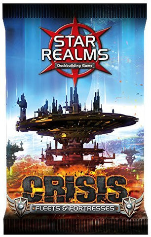 Star Realms Crisis Fleets & Fortresses Booster Pack