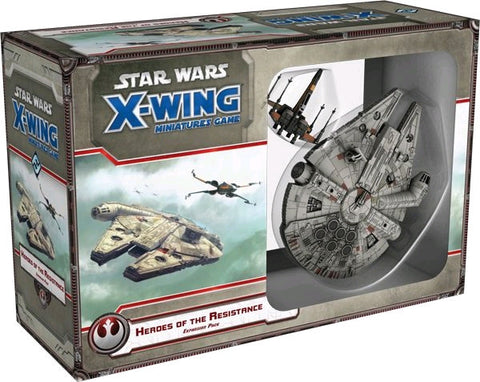 Star Wars - X-Wing Miniatures Game - Heroes of the Resistance Expansion Pack