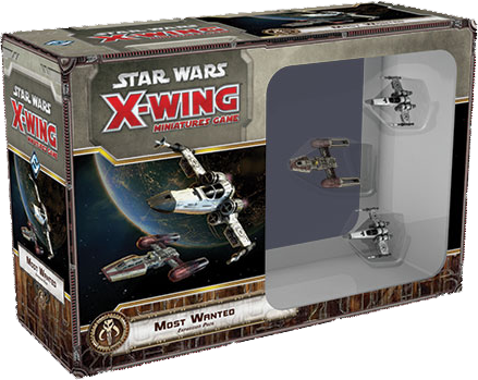 Star Wars - X-Wing Miniatures Game - Most Wanted Expansion Pack