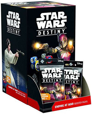 Star Wars Destiny Empire at War Booster Display (Release date 14 September 2017)