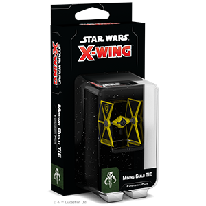 Star Wars X Wing 2nd Edition Mining Guild Tie Expansion Pack