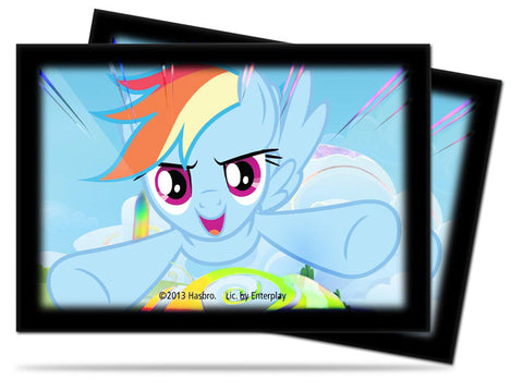 ULTRA PRO - My Little Pony - Small Size Protector Sleeves - Rainbow Dash 60ct