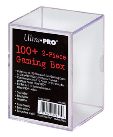 ULTRA PRO Card Storage Box - 2 Piece 100+