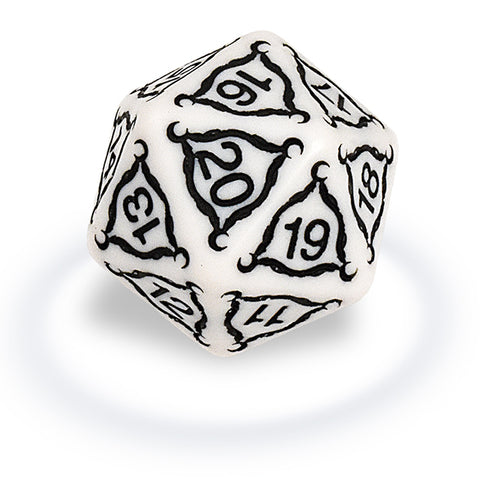 ULTRA PRO Gaming Accessories - Dice- Titan 20-sided- 40mm Ivory